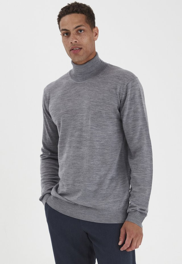 STEFFAN - Jersey de punto - med grey m