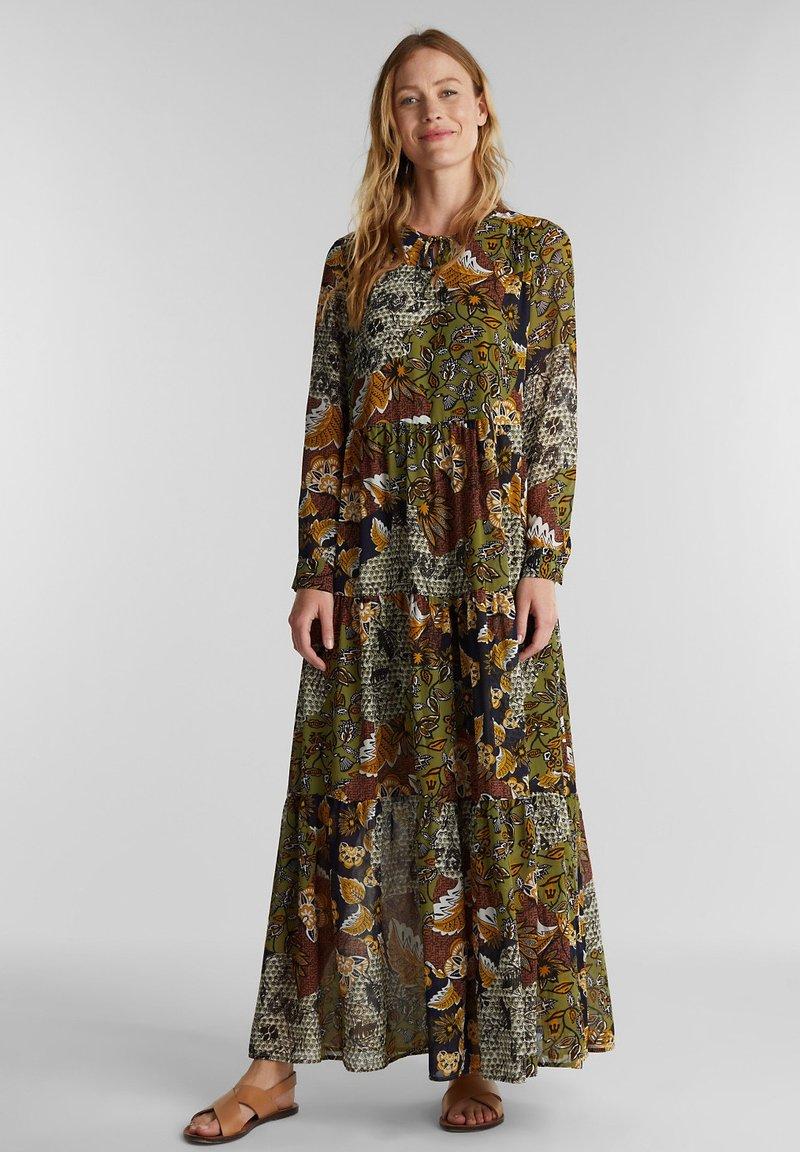 Esprit - Maxi dress - olive