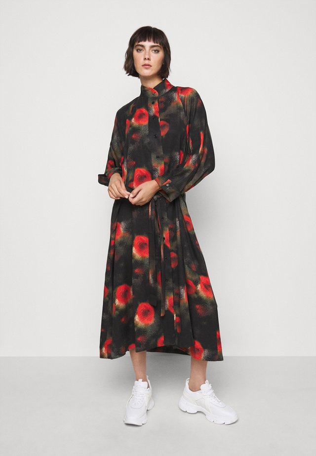 PIPE DRESS ARTIST PRINT - Robe longue - multi-coloured