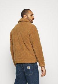 Topman - SHETLAND COACH - Winter jacket - rust - 2