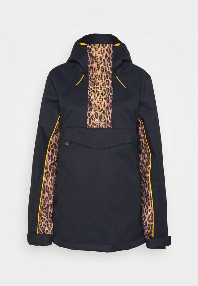 DIVA JACKET - Snowboard jacket - leopard_fade