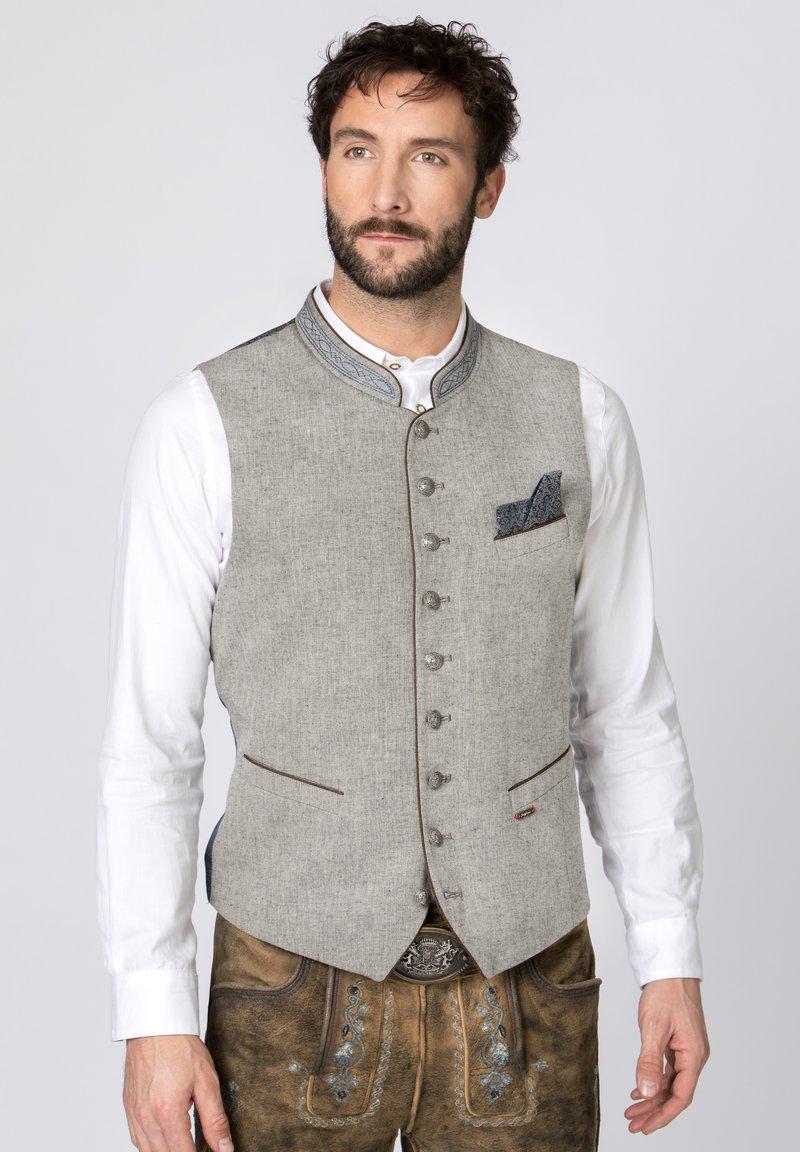 Stockerpoint - Waistcoat - grau-blau