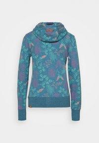 Ragwear - PAYA FLOWERS - Cardigan - blue - 1