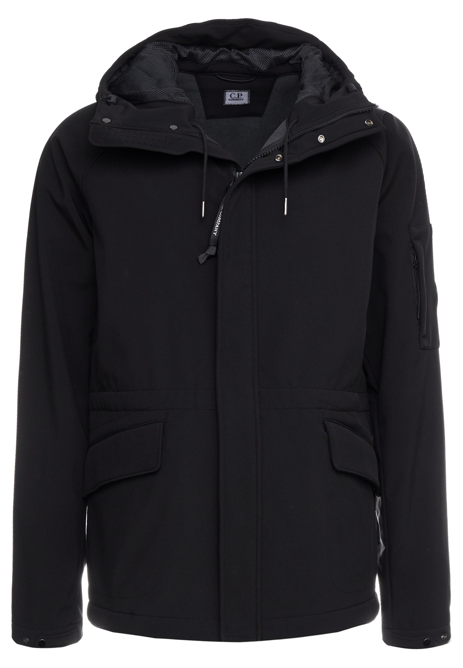 C.P. Company OUTERWEAR MEDIUM JACKET Lett jakke black