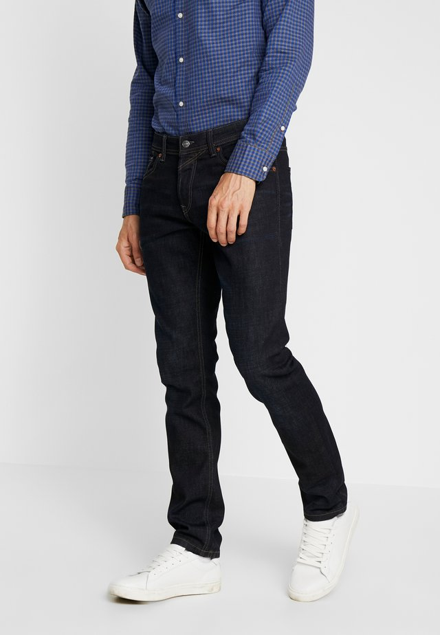 AEDAN - Jean droit - dark blue denim
