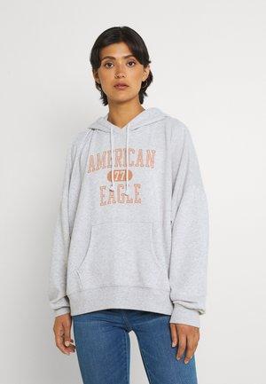 HIGH LOW HOODIE - Sweatshirts - heather gray