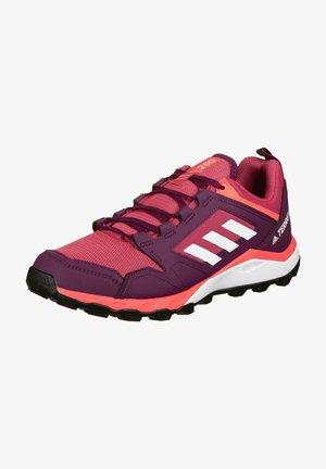 TERREX AGRAVIC TR TRAIL RUNNING SHOES - Neutrale løbesko - power pink/footwear white/signal pink