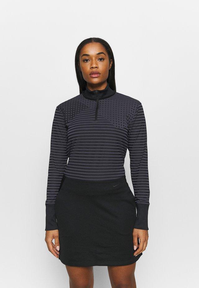 DRY ACE - Sportshirt - black/gridiron
