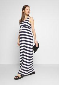Anna Field MAMA - Maxi dress - peacoat - 1