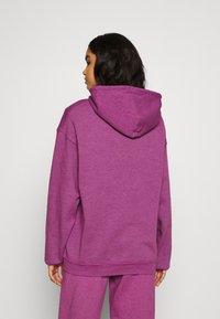BDG Urban Outfitters - HOODIE - Sweater - damson magenta - 2