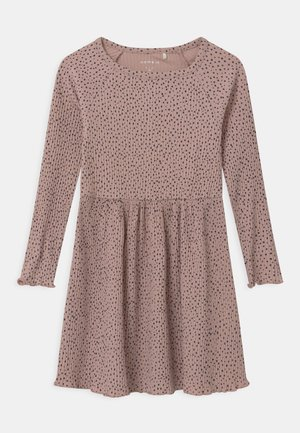 Jumper dress - adobe rose