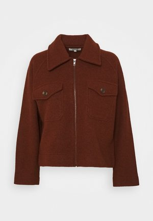 JORDAN ZIP UP JACKET - Giacca leggera - heather brick
