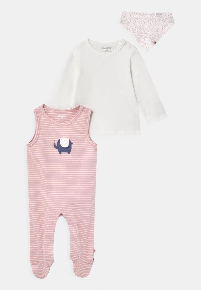 SET - Langærmede T-shirts - light pink