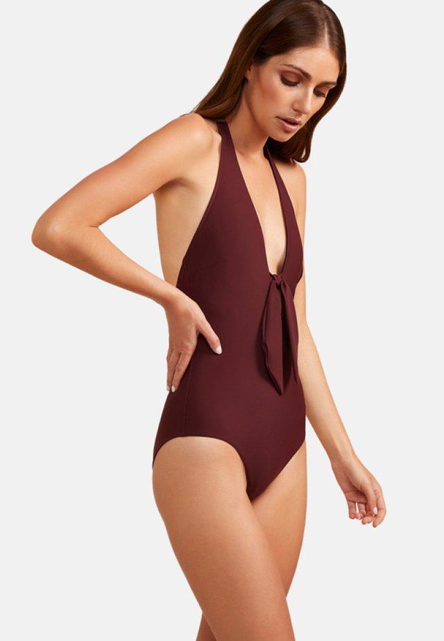 Swimsuit - burgundy