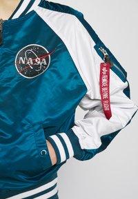 Alpha Industries - NASA - Bomber Jacket - naval blue - 4