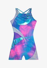 Capezio - GIRLS' GYMNASTICS STRAPPY BACK BIKETARD - Gym suit - pink/multicolour - 2