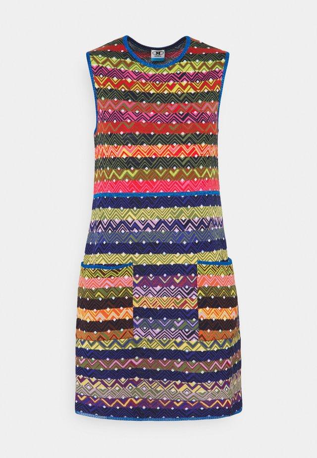 ABITO - Shift dress - multi-coloured