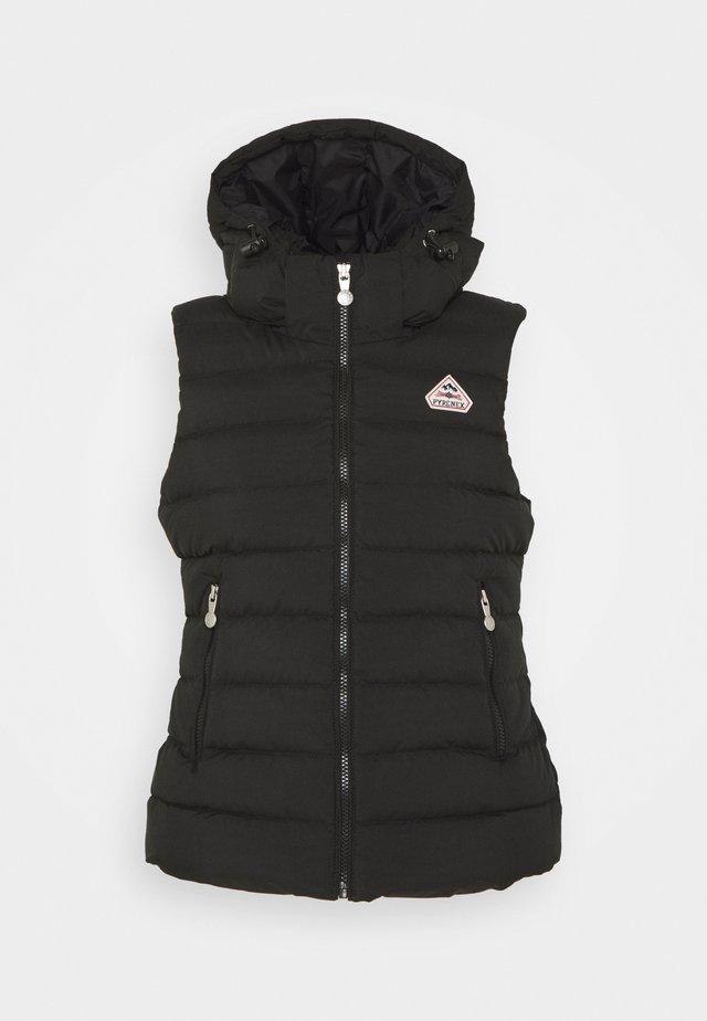 SPOUTNIC SOFT - Vest - black