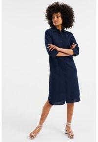 WE Fashion - Shirt dress - dark blue - 0