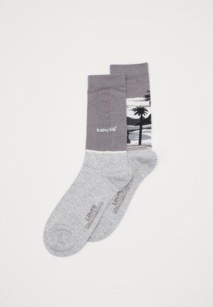 SURF SCENIC REGULAR CUT 2 PACK - Socks - light grey melange