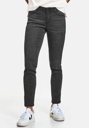 MIT NIETENDEKOR SUPER  TS - Slim fit jeans - black denim