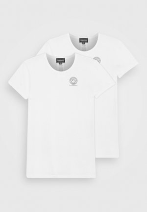 JUNIOR 2 PACK UNISEX - Print T-shirt - bianco ottico