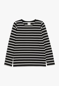 Mads Nørgaard - PABLO TASHINO  - Long sleeved top - black/white alyssum - 0