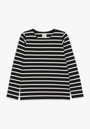 PABLO TASHINO  - Long sleeved top - black/white alyssum