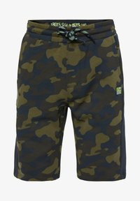 WE Fashion - Shorts - army green - 0