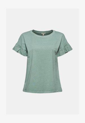 WASH TEE - Print T-shirt - turquoise