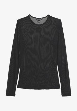 JOSSAN - Bluzka z długim rękawem - black dark