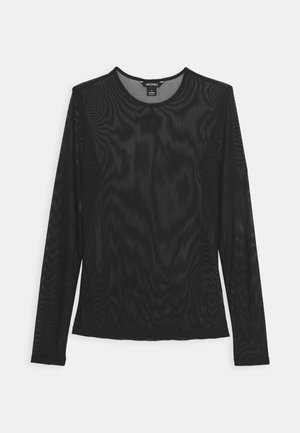 JOSSAN - Long sleeved top - black dark