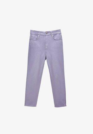 Jeans straight leg - lilac