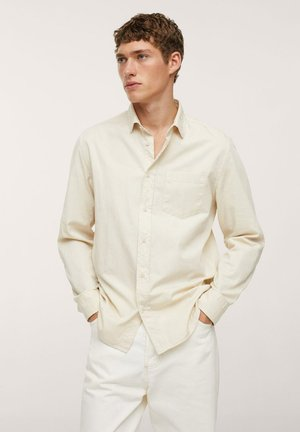 RELAXED-FIT - Skjorta - ivory white