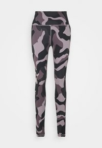 Under Armour - RUSH CAMO LEGGING - Punčochy - slate purple