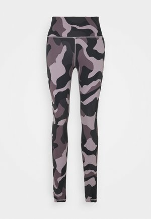 RUSH CAMO LEGGING - Collant - slate purple