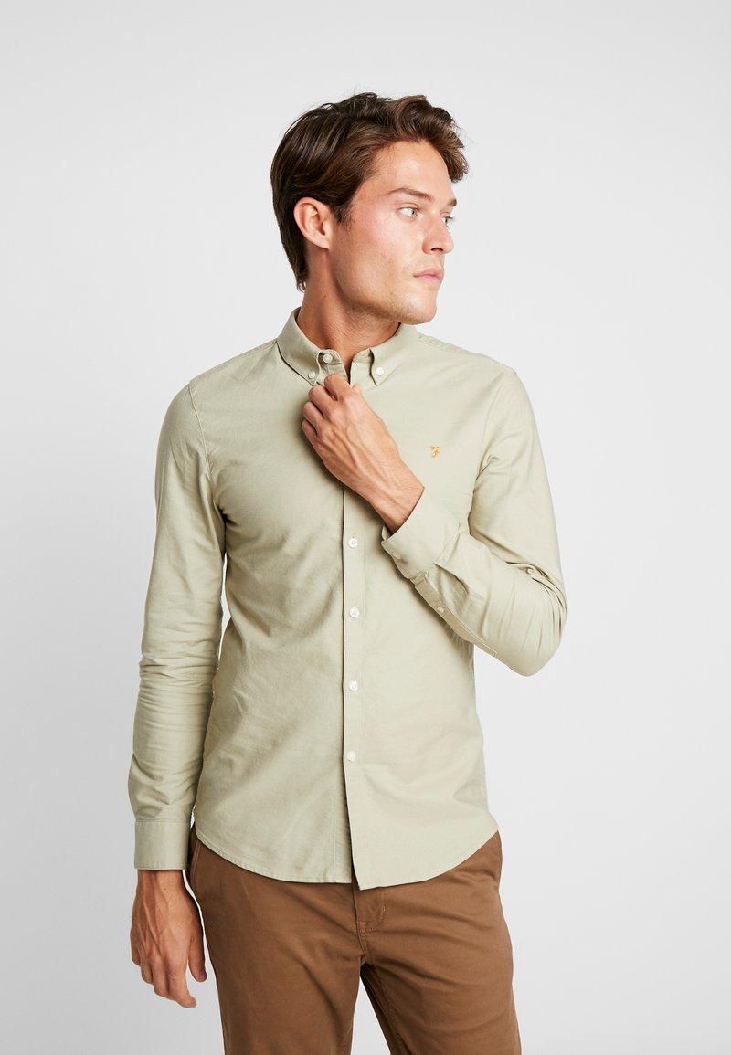 Farah - BREWER SLIM FIT - Shirt - sandstone