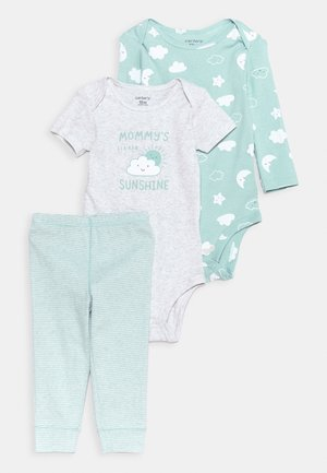 NEUTRAL SET UNISEX - Leggings - Trousers - light blue