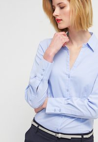 More & More - BLOUSE BILLA - Skjorte - blue - 3