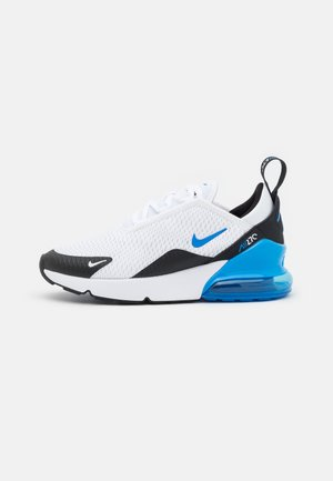 AIR MAX 270 UNISEX - Baskets basses - white/signal blue/black