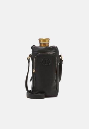 MINI BAG SET - Taška spříčným popruhem - nero