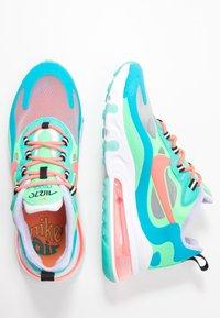Nike Sportswear - AIR MAX 270 REACT - Trainers - electro green/flash crimson/blue lagoon/hyper jade/lavender mist/sunset pulse - 5