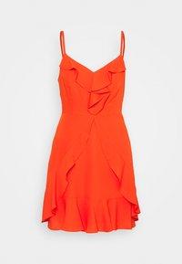 BCBGMAXAZRIA - EVE SHORT DRESS - Denní šaty - open orange - 0
