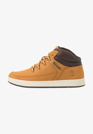 DAVIS SQUARE - High-top trainers - wheat