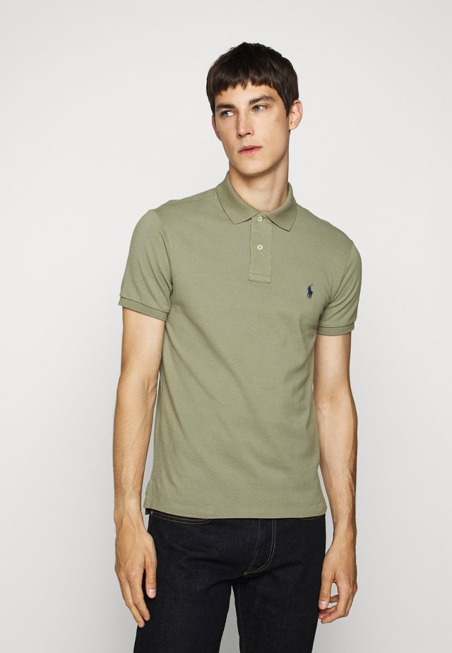 SLIM FIT MODEL - Poloshirt - sage green