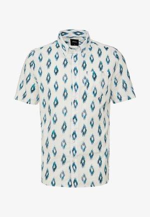 WHITE BLUE IKAT - Shirt - white