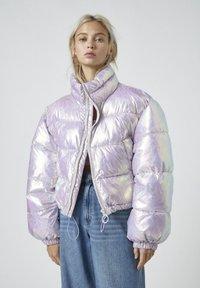 PULL&BEAR - Winter jacket - mauve - 0