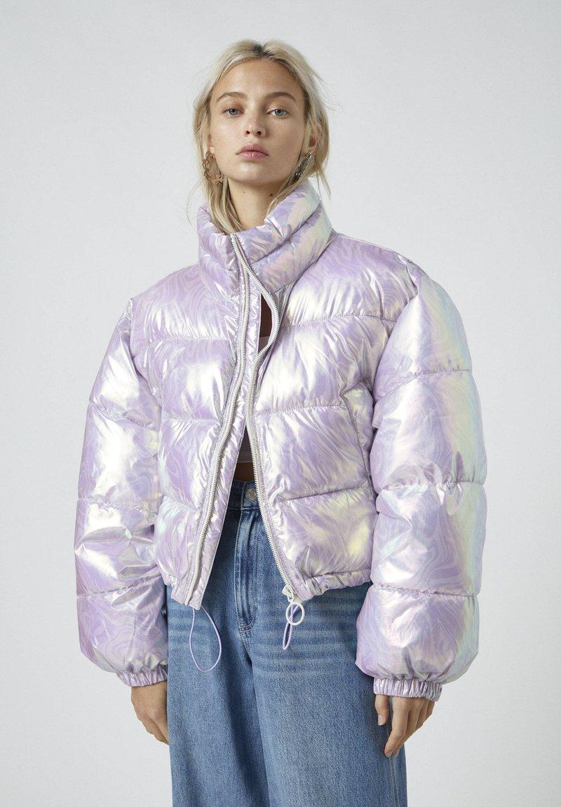 PULL&BEAR - Winter jacket - mauve