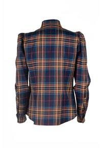 Luisa Spagnoli - LUTER - Button-down blouse - var blu/tabacco - 5