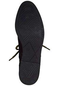 Marco Tozzi - Lace-up ankle boots - cognac ant.com 372 - 4
